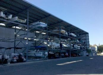 Before your boat is returned to the rack we scrub and rinse the outside and water line. With advanced notice we also offer work racks for storage customers ... & High and Dry Boat Storage Homosassa Boat Slips for Rent